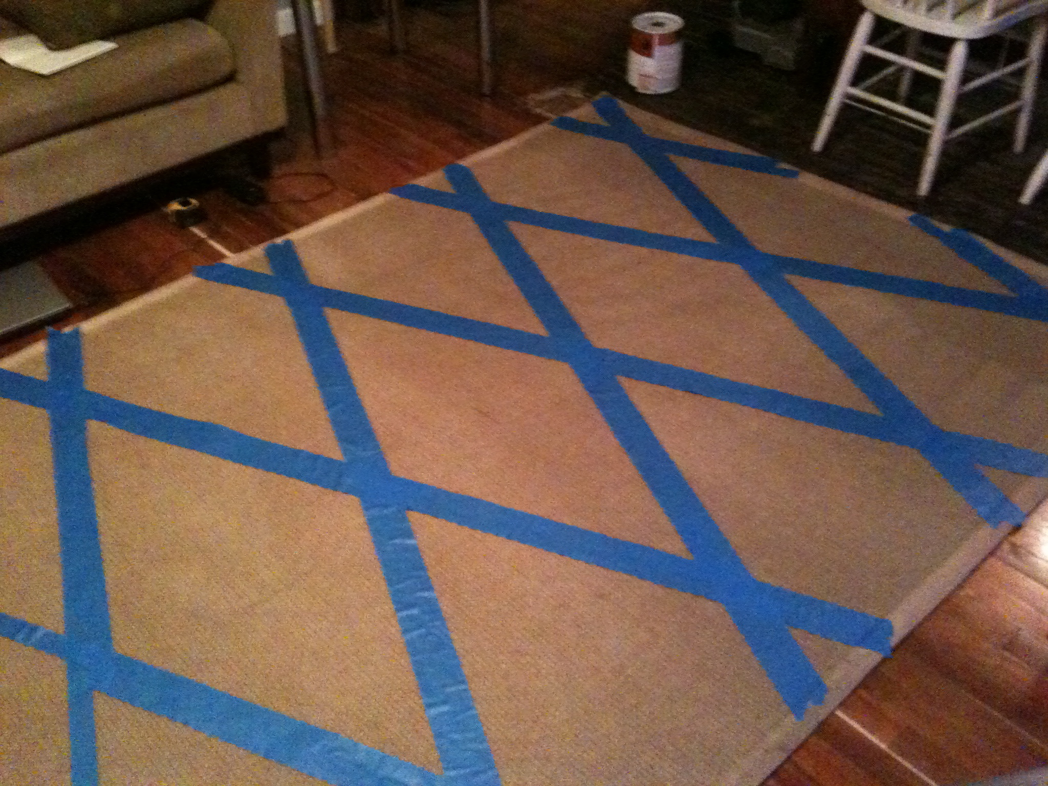 Superior Can You Paint An Area Rug Designs