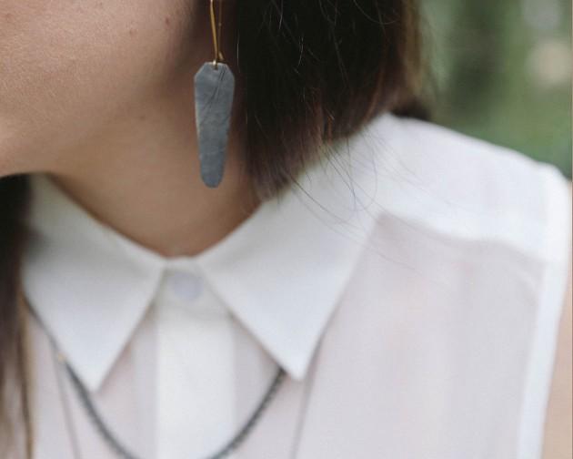 fail fortune S13 talisman drop earring