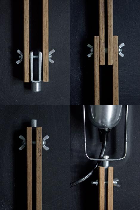 concrete bedside lamp diy fail. Black Bedroom Furniture Sets. Home Design Ideas