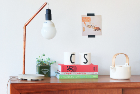 DIY_concrete_copper_lamp