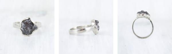 Custom Meteorite Ring